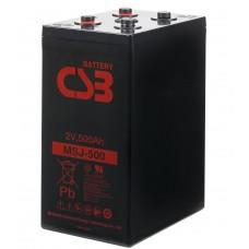 Аккумулятор CSB MSJ500 2В 510Ач серии MSJ