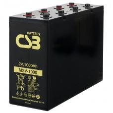 Аккумулятор CSB MSV1000 2В 1000Ач серии MSV