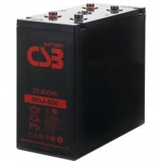 Аккумулятор CSB MSJ800 2В 870Ач серии MSJ
