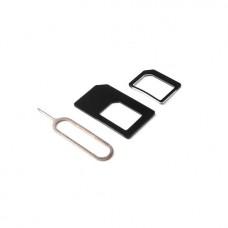 Пластиковый переходник для SIM-карт
