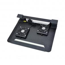 Охлаждающая подставка для ноутбука Cooler Master NotePal U2 Plus Чёрный