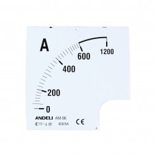 Шкала для амперметра ANDELI 2500/5