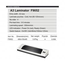 Ламинатор COMIX F9052 А3, 4 вала, 80-125 мкм, 30 см/мин.