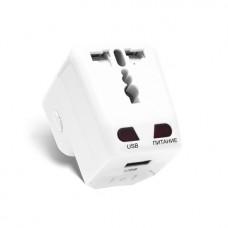 Универсальный адаптер Deluxe DWTAU03W Белый