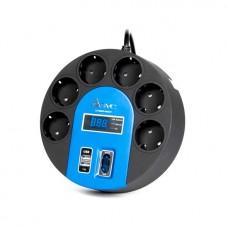 Сетевой фильтр SVC UFO G-4006-3BB 220 в.