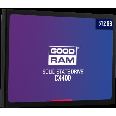 """Твердотельный накопитель 512GB SSD GOODRAM CX 400 2.5"""" SATA3 R550Mb/s W490MB/s 7mm SSDPR-CX400-512"""