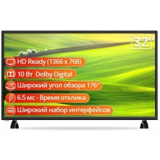 "Телевизор 32"" SKYWORTH 32E30 LED HD 60Hz HDMI, USB, Композитный"