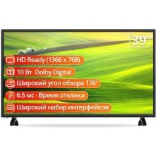 "Телевизор 39"" SKYWORTH 39E30 LEDl HDR 1366x768 2xHDMI, USB, 2x8W"
