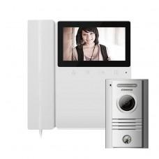 Комплект видеодомофона Commax CDV-43K + Вызывная панель DRC- 40K