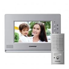Комплект видеодомофона Commax CDV-70A + Вызывная панель DRC-4CPN2