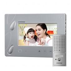 Комплект видеодомофона Commax CDV-70P + Вызывная панель DRC-4CPN2
