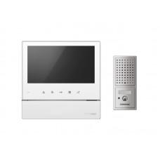 Комплект видеодомофона Commax — CDV-70H(WHI) + DRC-4CPN2(SIL)