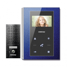 Комплект видеодомофона Commax CMV-43S + Вызывная панель DRC-4CPN2