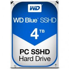 "Внутренний жесткий диск Western Digital Blue SSHD 4TB (8GB) SATA 3.5"" 5400RPM 64Mb"