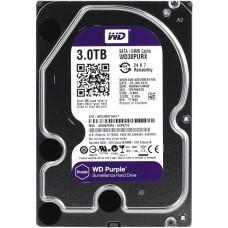 """Внутренний жесткий диск Western Digital Purple 3TB SATA 3.5"""" 5400RPM 64Mb"""