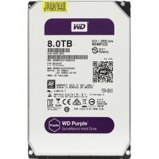 """Внутренний жесткий диск Western Digital Purple 8TB SATA 3.5"""" 5400RPM 128Mb"""