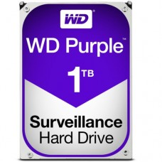 """Внутренний жесткий диск Western Digital Purple 1TB SATA 3.5"""" 5400RPM 64Mb"""