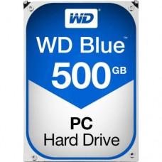 """Внутренний жесткий диск Western Digital Blue 500ГБ SATA 3.5"""" 5400RPM 64Mb"""