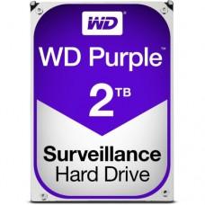 """Внутренний жесткий диск Western Digital Purple 2TB SATA 3.5"""" 5400RPM 64Mb"""