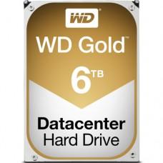"""Внутренний жесткий диск Western Digital Жесткий диск GOLD 6TB SATA 3.5"""" 7200RPM 128Mb"""