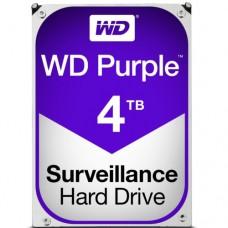"""Внутренний жесткий диск Western Digital Purple 4TB SATA 3.5"""" 5400RPM 64Mb"""