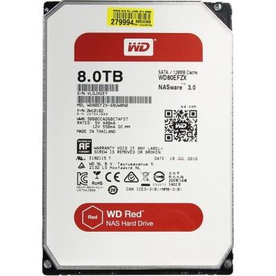 "Внутренний жесткий диск Western Digital RED 8TB SATA 3.5"" 5400RPM 64Mb"