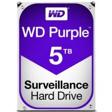 """Внутренний жесткий диск Western Digital Purple 5TB SATA 3.5"""" 5400RPM 64Mb"""