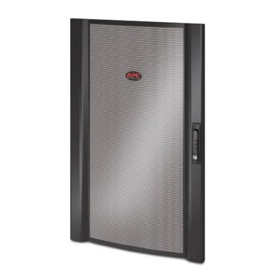 Дверца NetShelter SX Colocation 20U шириной 600 мм черная изогнутая перфорированная
