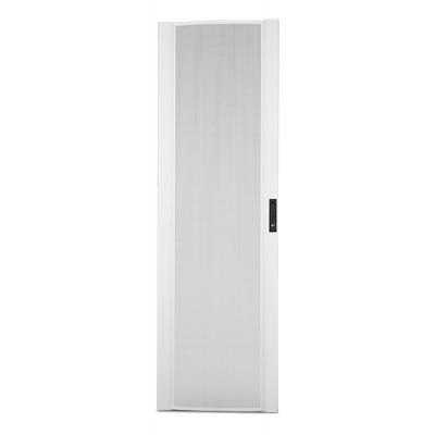 Перфорированная криволинейная дверца для шкафа NetShelter SX 42U, ширина 800 мм, серая