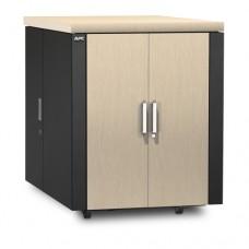 Защищенный звукоизолированный шкаф NetShelter CX 18U («компактный серверный зал»), международная версия