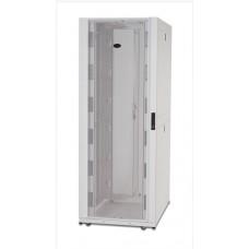 Шкаф NetShelter SX 42U, ширина 800 мм, глубина 1070 мм, с боковыми панелями, цвет серый RAL7035