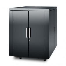 Шкаф NetShelter CX 18U, цвет темно-серый, международное исполнение