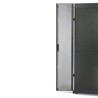 Перфорированные секционные дверцы для шкафа NetShelter SX 48U, ширина 600 мм, серые