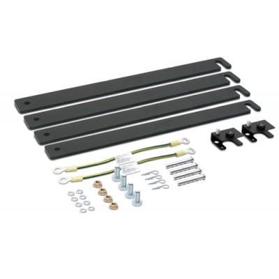 Комплект крепежа для кабель-роста, каналы для силового кабеля