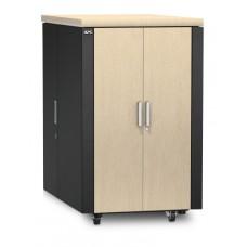 Защищенный звукоизолированный шкаф NetShelter CX 24U («компактный серверный зал»), международная версия