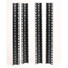 Набор вертикальных монтажных направляющих NetShelter CX Mini 12U