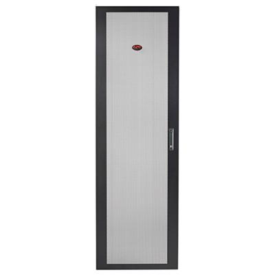 Дверца NetShelter SV 48U шириной 800 мм перфорированная плоская черная