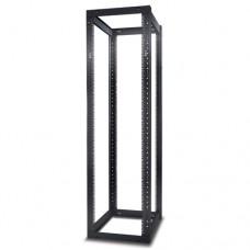 Открытая 4-опорная стойка NetShelter высотой 44U с квадратными монтажными отверстиями