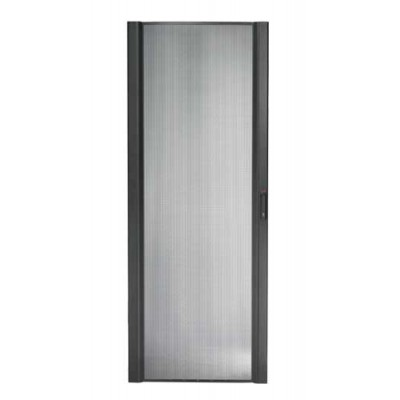 Дверца NetShelter SX 48U шириной 750 мм изогнутая черная перфорированная