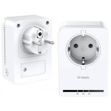 Комплект PowerLine-адаптеров D-Link DHP-P309AV