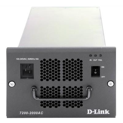 Резервный блок питания шасси D-Link 7200-2000AC