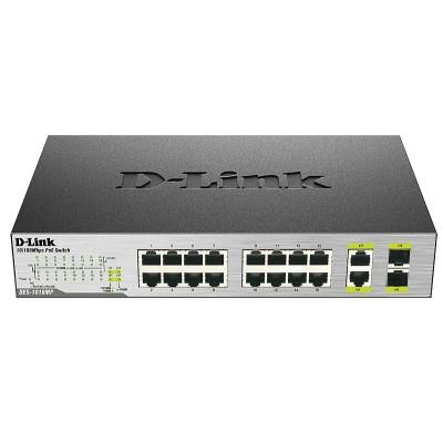 Неуправляемый коммутатор D-Link DES-1018MP
