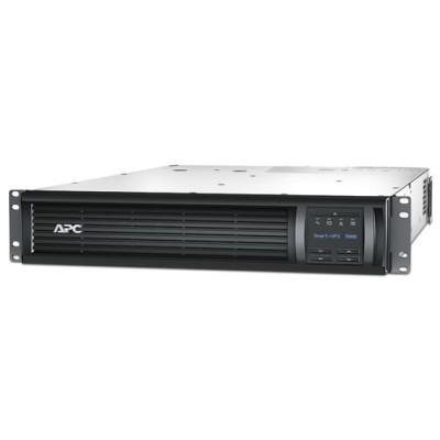 APC Smart-UPS 3000 ВА с ЖК-экраном, в стоечном шасси высотой 2U, 230 В, с платой сетевого управления