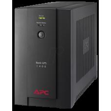 ИБП APC Back-UPS 1400 ВА, 230 В, авторегулировка напряжения, розетки IEC