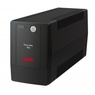 ИБП APC Back-UPS 650 ВА, 230 В, авторегулировка напряжения, евророзетки