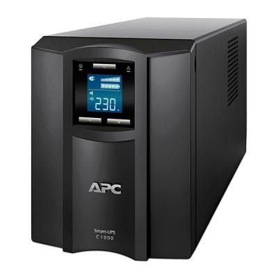 ИБП APC Smart-UPS C 1000 ВА, ЖК-экран, 230 В