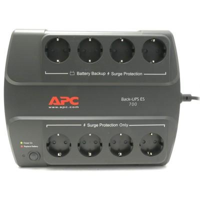 ИБП APC Back-UPS ES Power-Saving, 8 розеток, 700 ВА 230 В, CEE 7/7