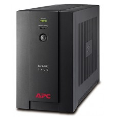 ИБП APC Back-UPS 1400 ВА, 230 В, авторегулировка напряжения, евророзетки