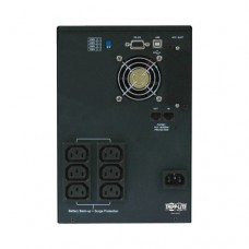 Вертикальный линейно-интерактивный ИБП семейства SmartPro (230 В; 750 ВА; 500 Вт) с выходным питанием чистой синусоидальной формы, с возможностью подключения сетевых карт, разъемом USB и последовательным разъемом DB9