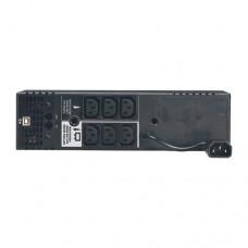 Линейно-интерактивный ИБП семейства SmartPro вертикального монтажа (230 В; 1 кВА; 500 Вт) с ЖК-дисплеем, разъемом USB и 6 розетками